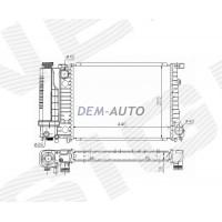 Радиатор охлаждения 1,6i/1,8i/2,0i/2,3i/2,5i MT