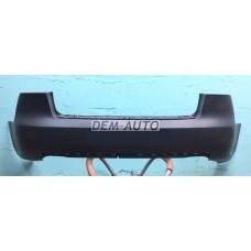 Audi a4  Бампер задний (СЕДАН) без отверстий под датчики грунтованный - Dem-Yug