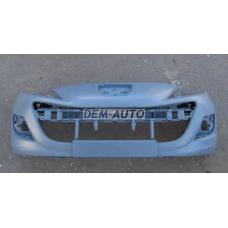 207 Бампер передний грунтованный - Dem-Yug
