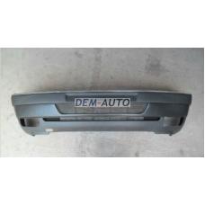 405 / Бампер передний с отверстиями под противотуманки черный - Dem-Yug