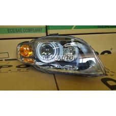 Audi a4  Фара правая (КСЕНОН) линзованная с регулировочным мотором - Dem-Yug