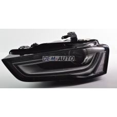 Audi a4  Фара левая линзованная с регулировочным мотором (КСЕНОН) диодная (DEPO) - Dem-Yug