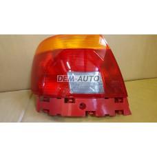 Audi a4  Фонарь задний внешний левый (СЕДАН) красно-желтый - Dem-Yug