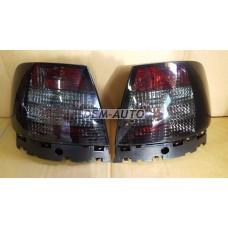 Audi a4+(depo)  Фонарь задний внешний левый+правый(КОМПЛЕКТ)(СЕДАН)тюнинг прозрачный хрустальный тонированный - Dem-Yug