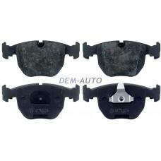 Mintex {bmw 5 (e39) 7 (e38) x5}  Колодки тормозные передние{BMW 5 (E39), 7 (E38), X5} - Dem-Yug
