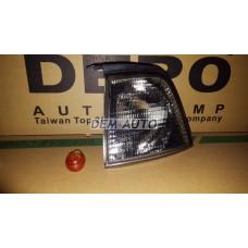 Указатель поворота угловой левый (DEPO) тонированный на                            Ауди 80/90 - Б3