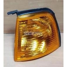 Указатель поворота угловой левый (DEPO) желтый на                            Ауди 80/90 - Б3