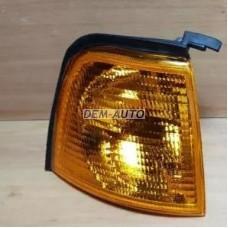 Указатель поворота угловой правый (DEPO) желтый на                            Ауди 80/90 - Б3