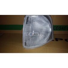 Audi 100 . (depo)  Указатель поворота угловой левый (DEPO) белый - Dem-Yug