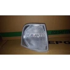 Audi 100 . (depo)  Указатель поворота угловой правый (DEPO) белый - Dem-Yug