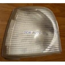 Audi 100 . Указатель поворота угловой левый тюнинг прозрачный внутри хром - Dem-Yug