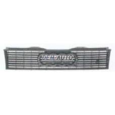 Audi 80 {90}  Решетка радиатора без эмблемы - Dem-Yug