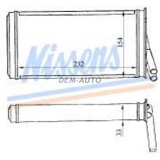 Audi 80 {90 87-94 /a4 95-} (nissens) (ava) (.) Радиатор отопителя (NISSENS) (AVA) (см.каталог) - Dem-Yug