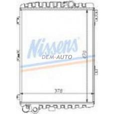 Audi 80 {90} (nissens) (.) Радиатор охлаждения(NISSENS) (см.каталог) - Dem-Yug