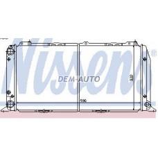 Audi 80 (nissens) (aspherical) (.) Радиатор охлаждения (NISSENS) (aspherical) (см.каталог) - Dem-Yug
