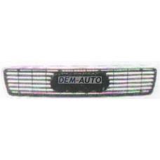 Решетка радиатора хромированная-черная на                                                                                                             Ауди80/90 Б4