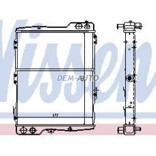 Audi 80 {90 88-} (nissens) (ava) (.) Радиатор охлаждения (NISSENS) (AVA) (см.каталог) - Dem-Yug