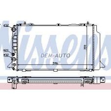 Audi 80 (nissens) (nrf) (geri) (.) Радиатор охлаждения (NISSENS) (NRF) (GERI) (см.каталог) - Dem-Yug