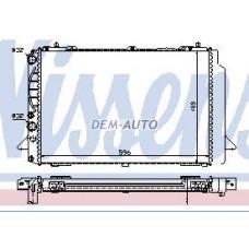 Audi 80 mt 1.9(nissens) (nrf) (geri) (.) Радиатор охлаждения механика 1.9 (турбодизель) (NISSENS) (NRF) (GERI) (см.каталог) - Dem-Yug