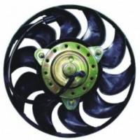Мотор+вентилятор радиатора охлаждения в сборе (300W 280mm)
