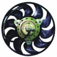 Мотор+вентилятор радиатора охлаждения в сборе (300W 280mm) на                                                                                                             Ауди80/90 Б4