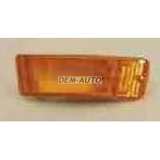 Audi 90 { 87-91/cabrio 87-93} .  Указатель поворота нижний правый в бампер желтый - Dem-Yug
