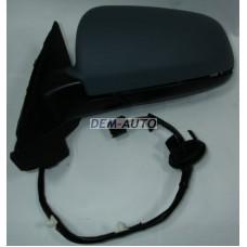 Зеркало левое (3 дв) электрическое с подогревом (aspherical) грунтованное на                                                       Ауди А3 8П