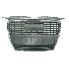 Audi a3  Решетка радиатора хромированная- серебрянная - Dem-Yug