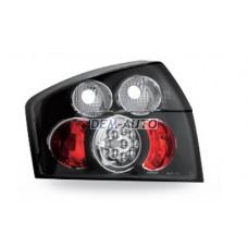 Audi a4+ (junyan) Фонарь задний внешний левый+правый(КОМПЛЕКТ)тюнинг с диодами (JUNYAN) внутри черная - Dem-Yug