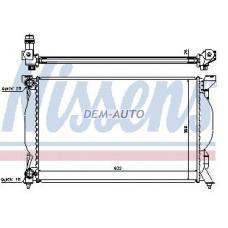 Audi a4 (nissens) (ava) (.) Радиатор охлаждения (NISSENS) (AVA) (см.каталог) - Dem-Yug