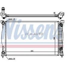 Радиатор охлаждения (см.каталог) на                                                       Ауди А4 Б6