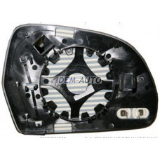 Audi a4 {a3/a5/a8 08- /a6 09-}  Стекло зеркала левое с подогревом (aspherical) - Dem-Yug