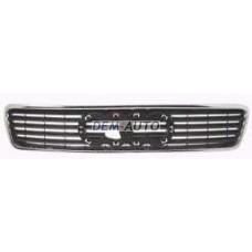 Audi a4  Решетка радиатора хромированная-черная - Dem-Yug