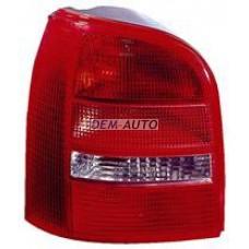 Audi a4  Фонарь задний внешний левый (УНИВЕРСАЛ) красно-белый - Dem-Yug