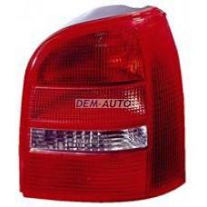 Audi a4  Фонарь задний внешний правый (УНИВЕРСАЛ) красно-белый - Dem-Yug