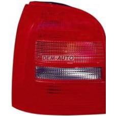 Фонарь задний внешний левый (УНИВЕРСАЛ) красно-тонированный на                                                                                  Ауди А4 Б5 рестайлинг