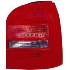 Фонарь задний внешний правый (УНИВЕРСАЛ) красно-тонированный на                                                                                  Ауди А4 Б5 рестайлинг