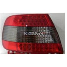 Audi a4  Фонарь задний внешний левый+правый(КОМПЛЕКТ) тюнинг с диодамитонированный-красный - Dem-Yug