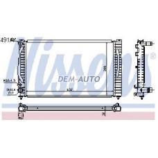 Audi a4  Радиатор охлаждения (NISSENS) (см.каталог) - Dem-Yug