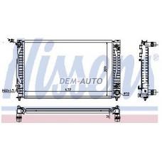 Audi a4 {a6 97-/passat 96-}  Радиатор охлаждения (NISSENS) (NRF) (GERI) (см.каталог) - Dem-Yug