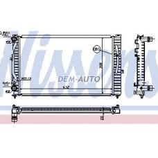 Audi a4 {ai a6 97-/passat 96-}  Радиатор охлаждения (NISSENS) (AVA) (см.каталог) - Dem-Yug