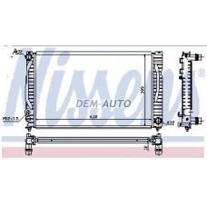 Audi a4 {a6 97-04/passat 96-}  Радиатор охлаждения (см.каталог) - Dem-Yug