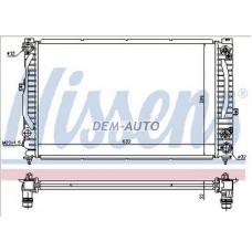 Audi a4 {a6 97-/passat 00-}  Радиатор охлаждения (NISSENS) (AVA) (см.каталог) - Dem-Yug