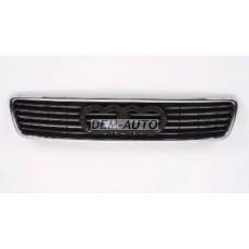 Audi a4  Решетка радиатора черная с хромированным молдингом - Dem-Yug