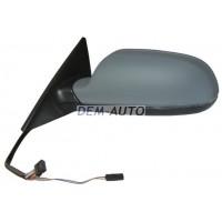 Зеркало левое (4 дв) Sportback электрическоес подогревом автоскладыванием указателем поворота памятью Side assist(aspherical)грунтованное{16 конт.}