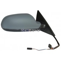 Зеркало правое (4 дв) Sportback электрическоес подогревом автоскладыванием указателем поворота памятью Side assist(aspherical)грунтованное{16 конт.}