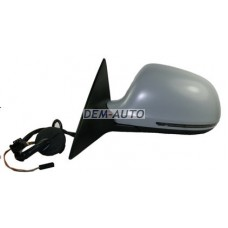 Зеркало левое электрическоес подогревом с автоскладыванием , памятью , Side assist , указателем поворота , (aspherical)грунтованное{16 конт.} на                                                                                  Ауди А6 Ц6 рестайлинг