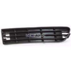 Audi a6  Решетка бампера передняя левая черная - Dem-Yug