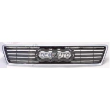 Audi a6  Решетка радиатора хромироанная -черная - Dem-Yug