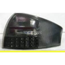 Audi a6  Фонарь задний внешний левый+правый (КОМПЛЕКТ) тюнинг (СЕДАН) с диодным стоп сигналом полностью тонированный - Dem-Yug